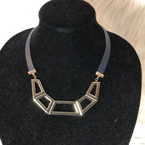 Jewelry - Gold plated Art Deco style necklace